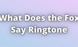 What does the Fox say Ringtone